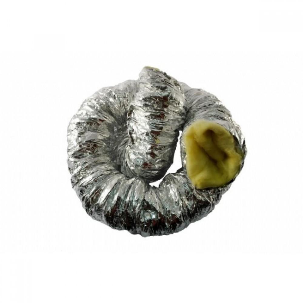 Εύκαμπτος σωλήνας αλουμινίου με μόνωση διαμ. 15εκ. -10μ.