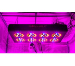Led Apollo PLUS Hyperled Sonlight 8 (128x3w) 384W - Agro